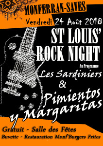 Affiche Rock Night 2018 copie