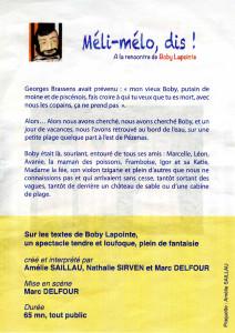 Flyer Verso Meli-melo dis A5